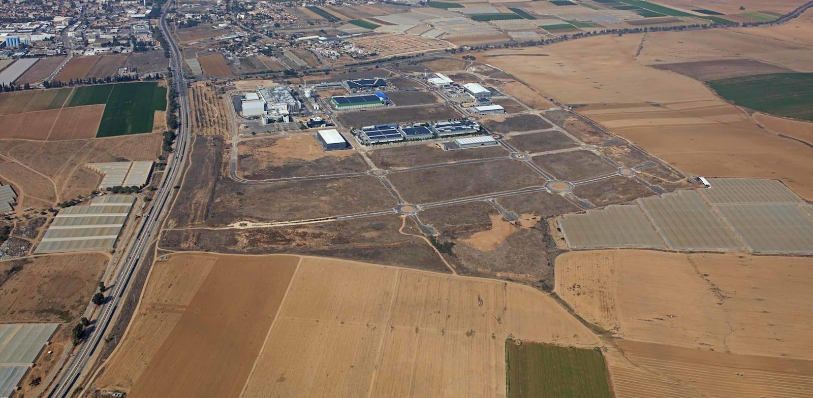 פארק תעשייה נ.ע.מ / צילום: אופק צילומי אוויר