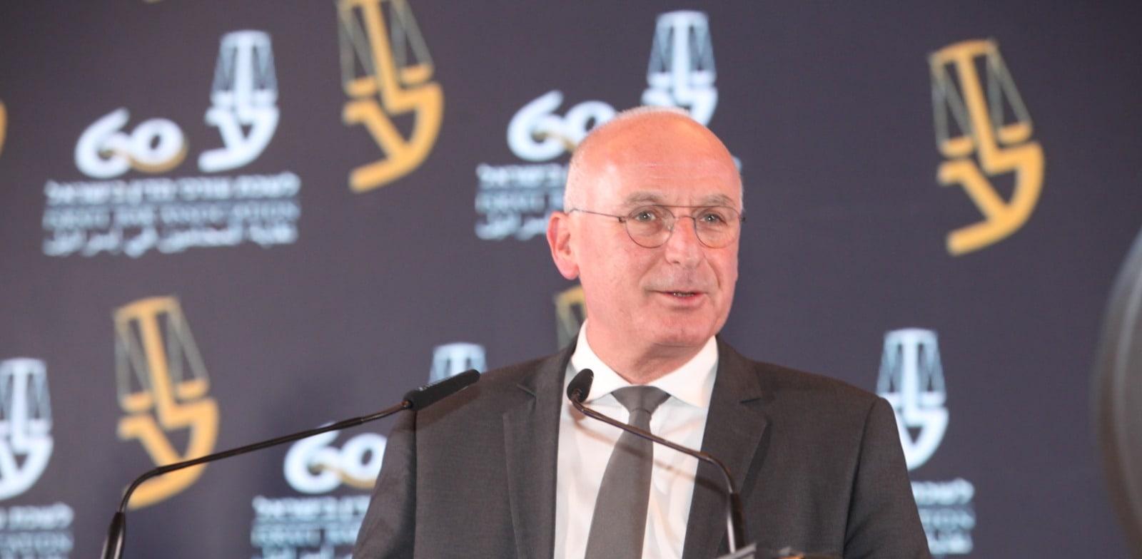 יאיר אבידן, המפקח על הבנקים / צילום: דוברות לשכת עורכי הדין