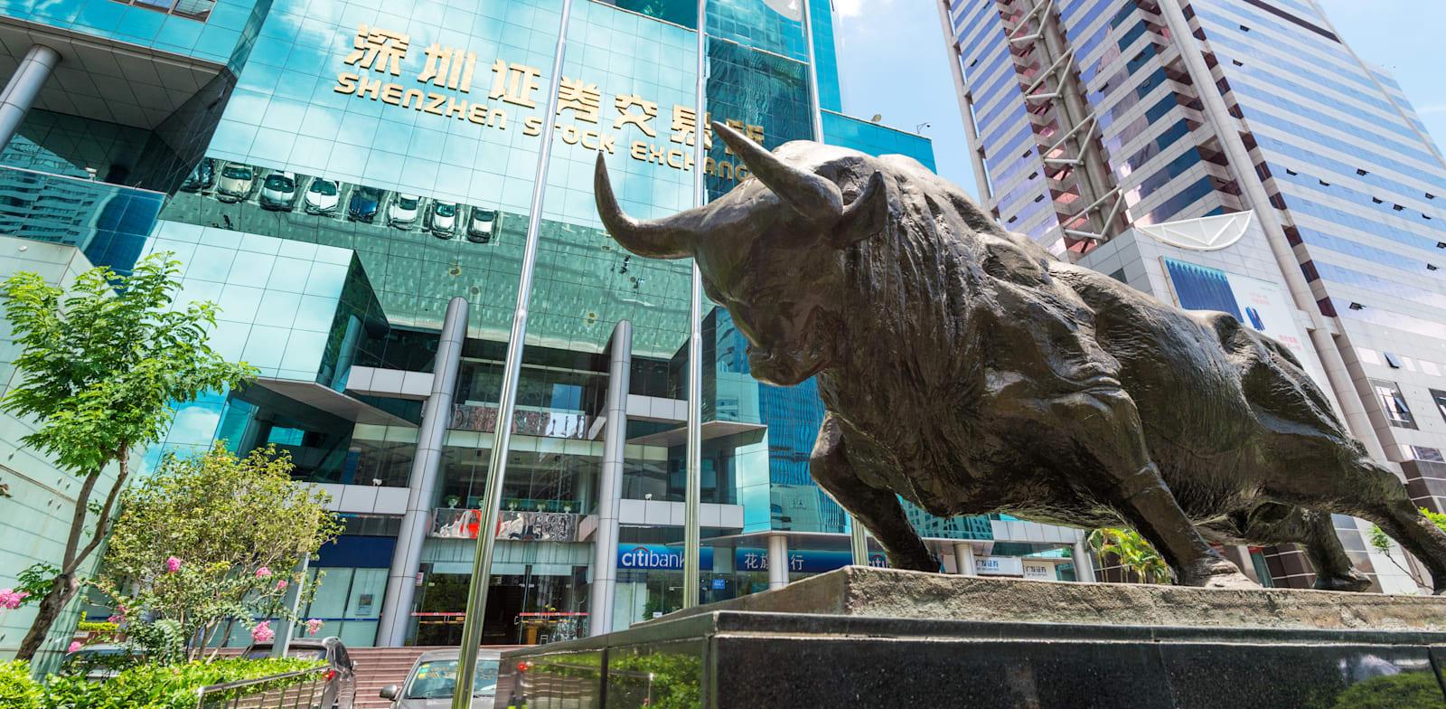 הבורסה בשנזן, סין / צילום: Shutterstock