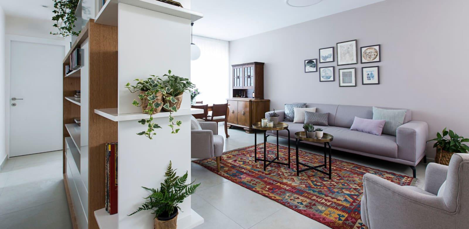 דירה בעיצוב נטע גולדשטיין / צילום: רז רוגובסקי
