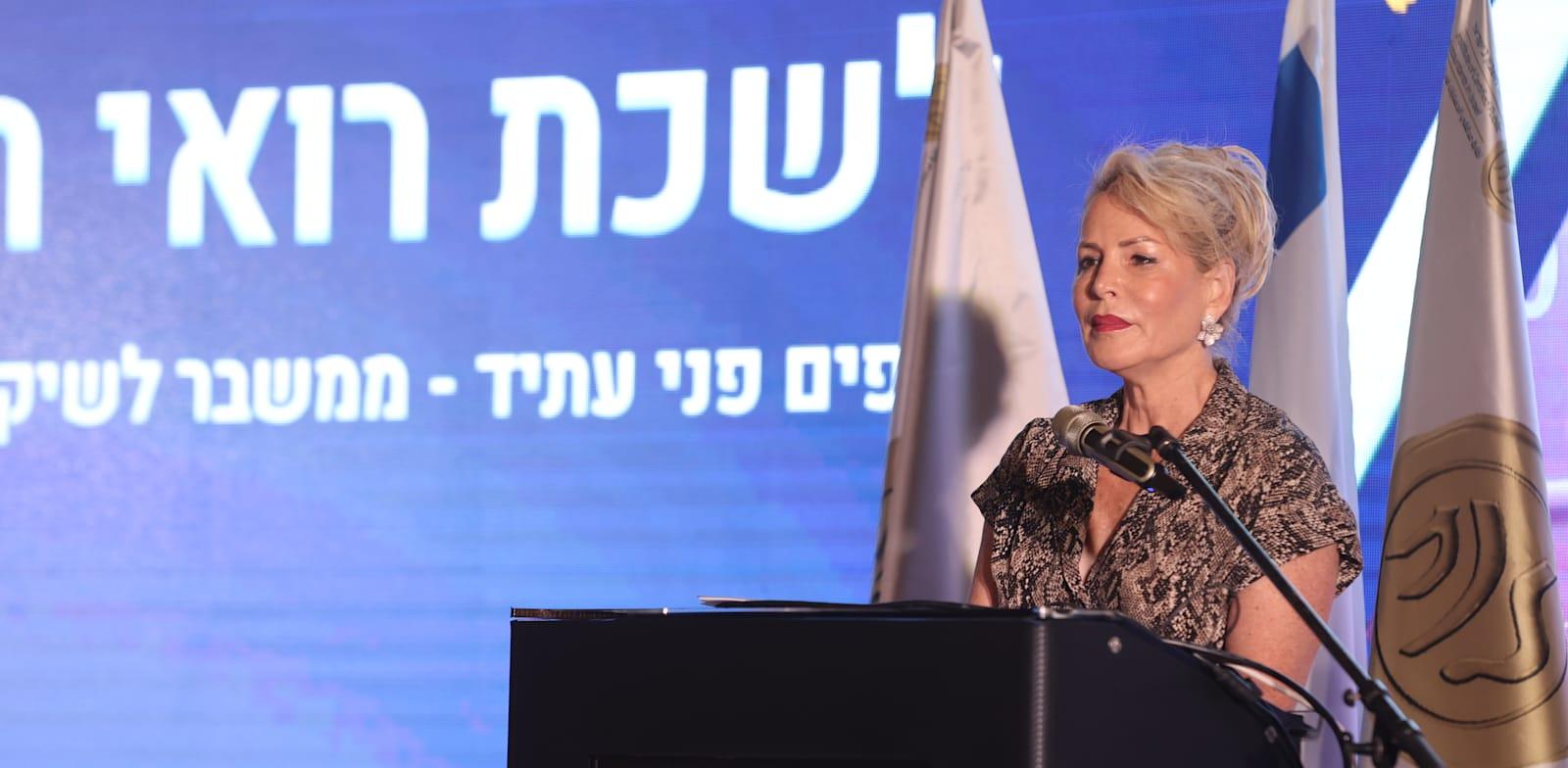 נשיאת לשכת רואי החשבון איריס שטארק / צילום: ניב קנטור