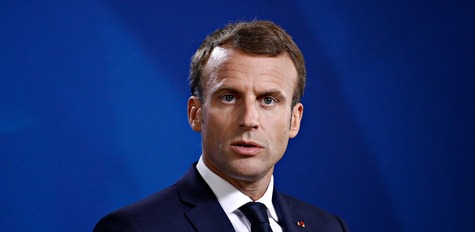 עמנואל מקרון, נשיא צרפת / צילום: Shutterstock, Alexandros Michailidis