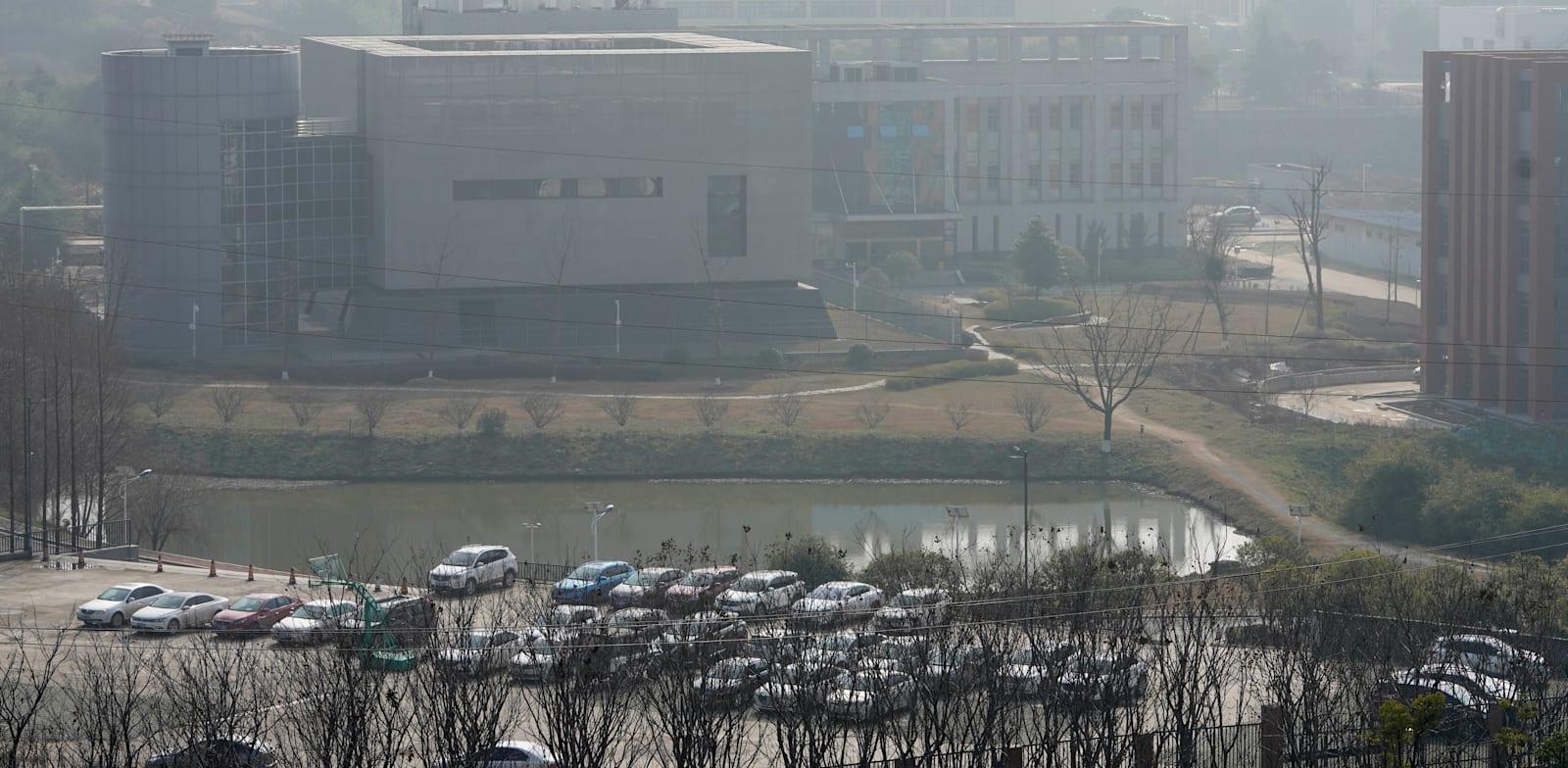 מכון ווהאן לווירולוגיה, מוקדם יותר השנה / צילום: Associated Press, Ng Han Guan