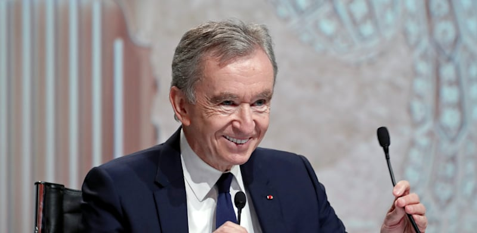 Bernard Arnault credit: Reuters