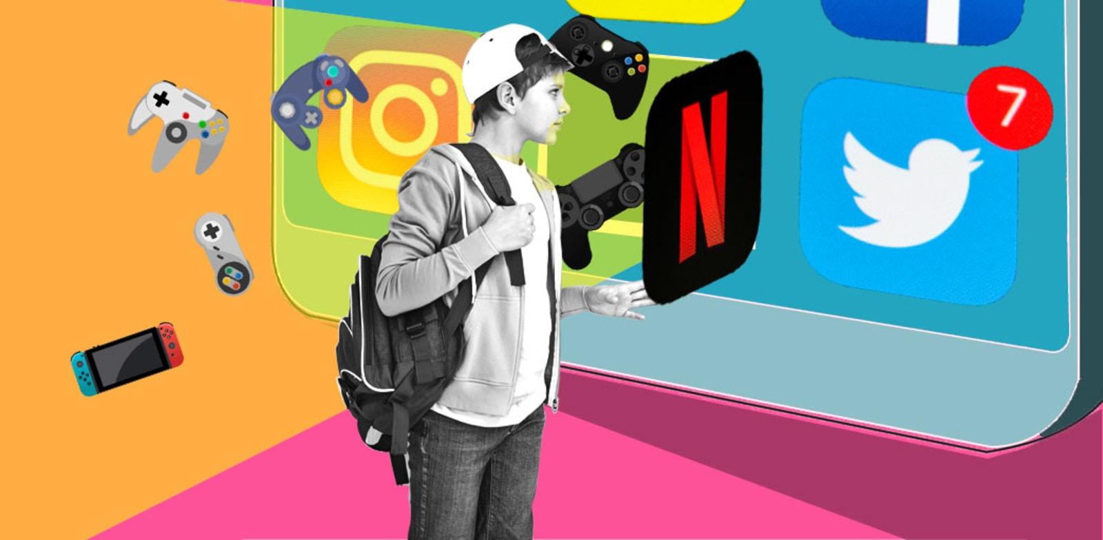 דור ה–Z נוהר לרשתות החברתיות ולגיימינג / צילום: Shutterstock