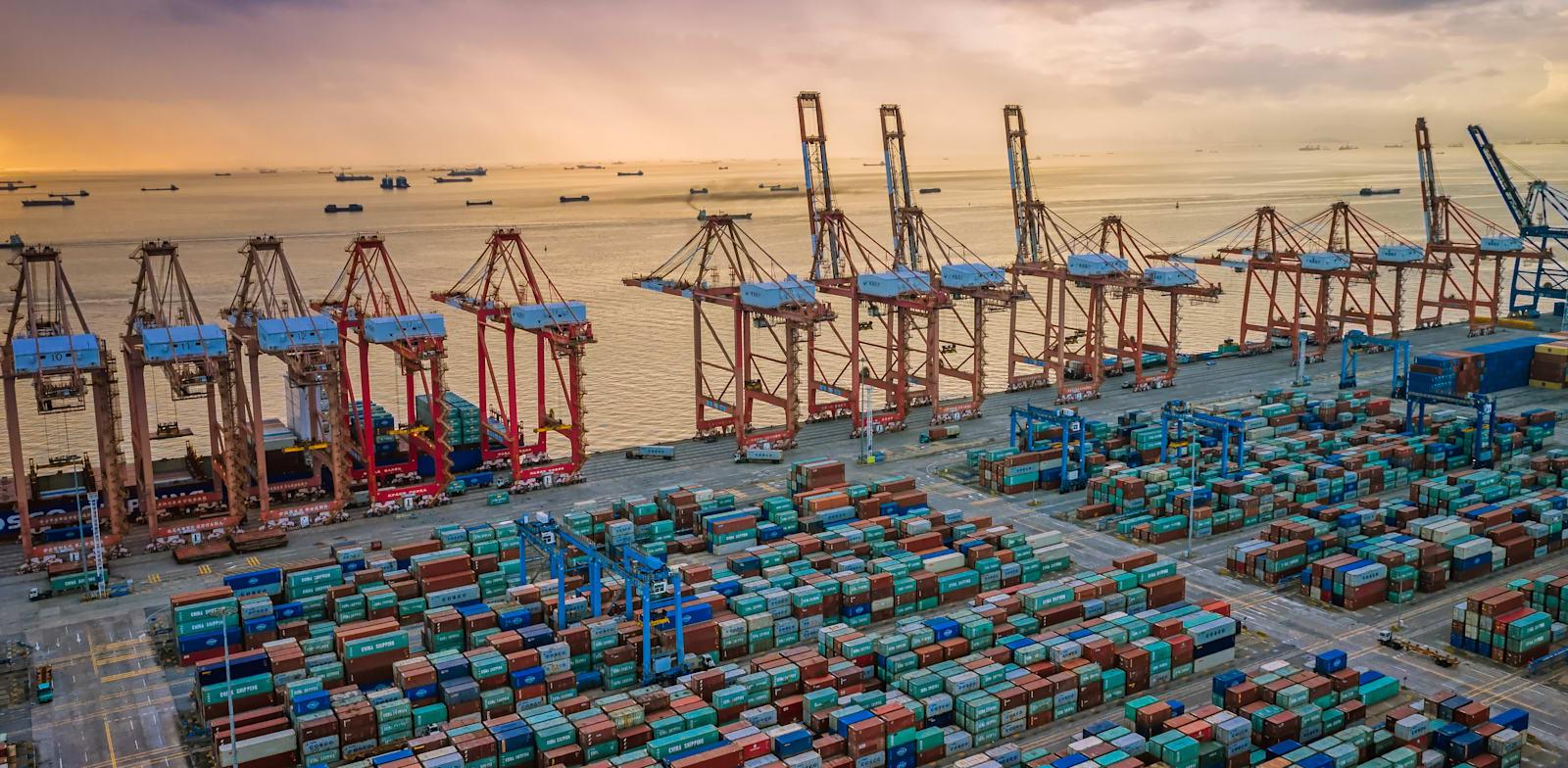 נמל גואנגג'ואו / צילום: Shutterstock, GuoZhongHua