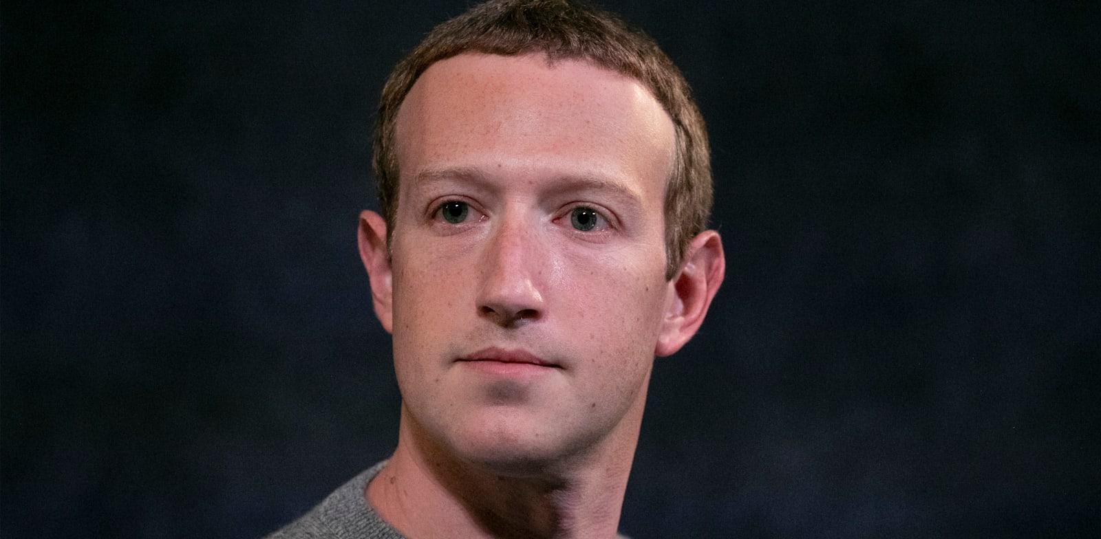 """מארק צוקרברג, מייסד ומנכ""""ל פייסבוק / צילום: Associated Press, Mark Lennihan"""