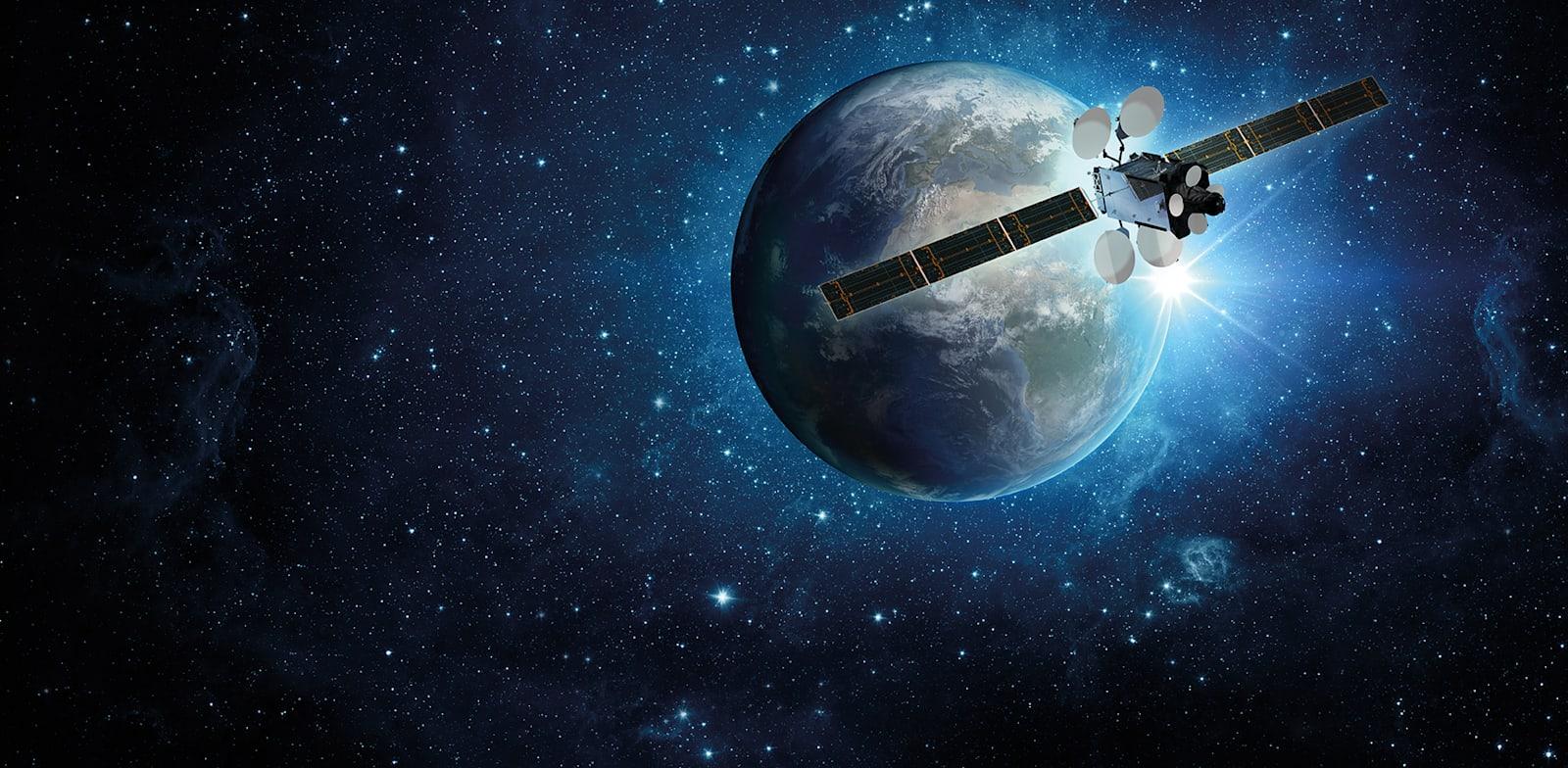 לוויין עמוס-17 של חלל תקשורת / צילום: יח''צ