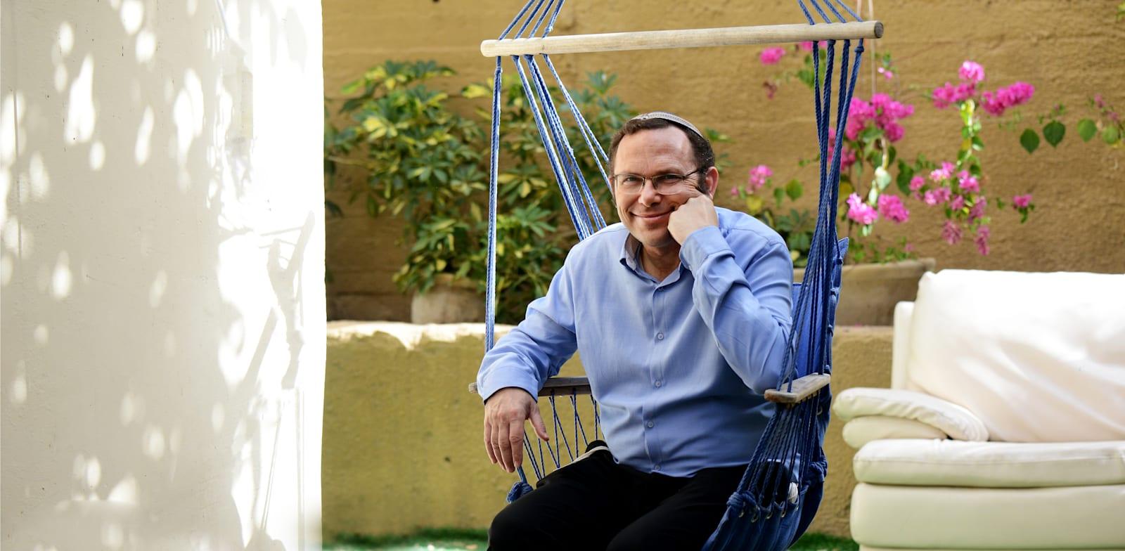"""ישראל זעירא. בעלים ומנכ""""ל של חברת באמונה, ייזום וניהול פרויקטים בע״מ / צילום: איל יצהר"""