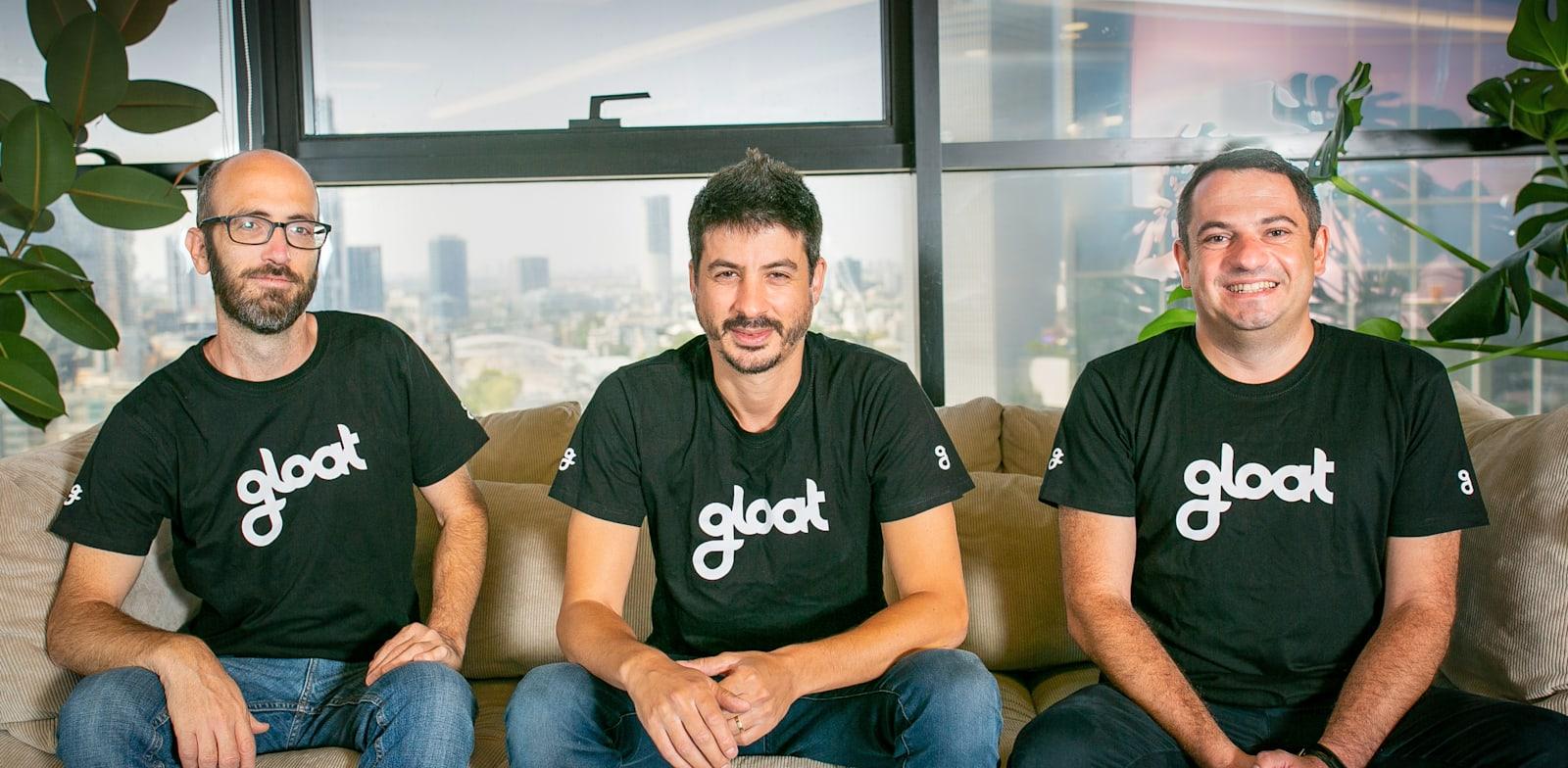 Gloat founders Photo: Ma'ayan Schwartz