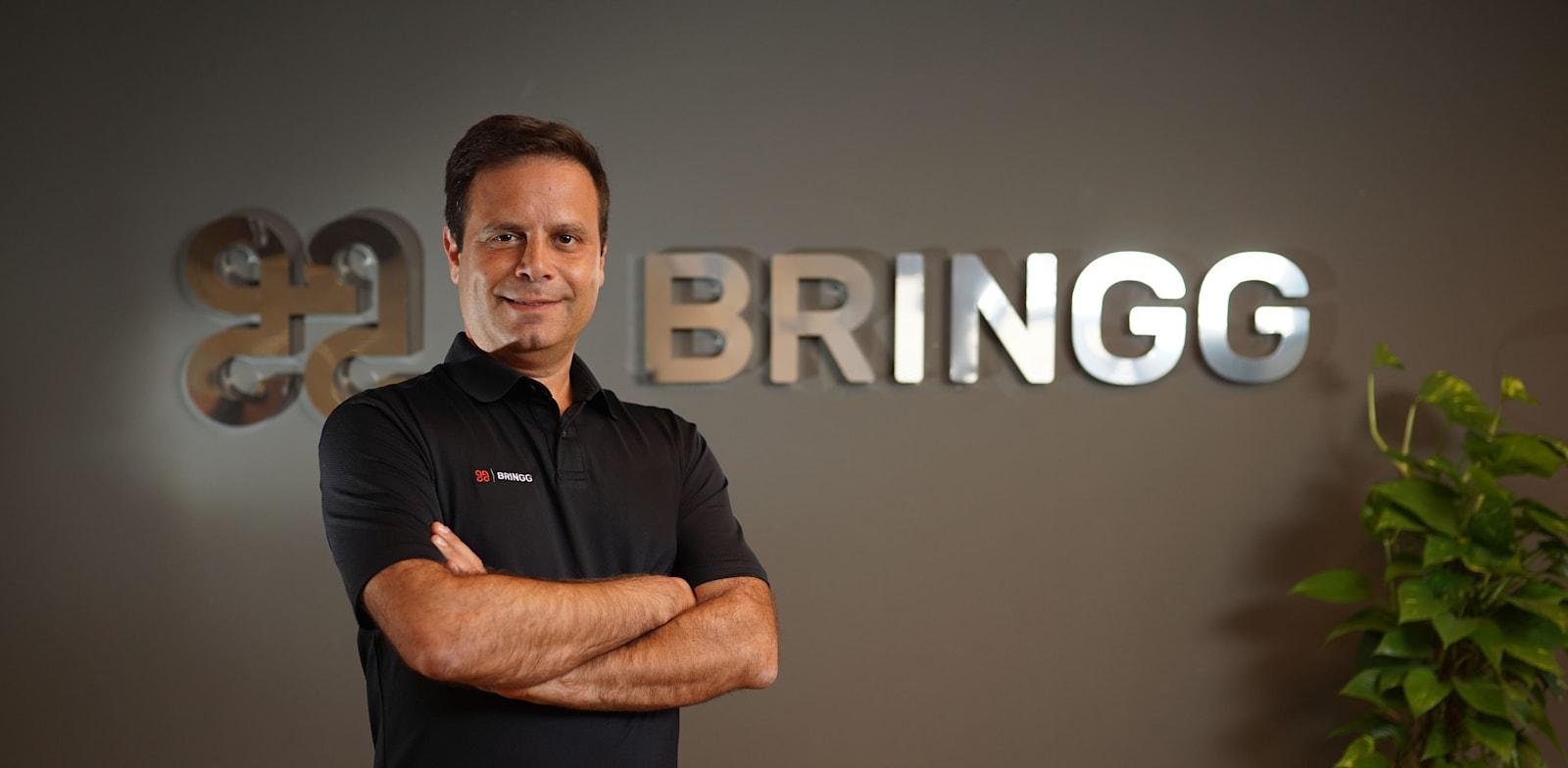 """גיא בלוך, מנכ""""ל חברת ברינגג / צילום: ג'ויה Bringg"""