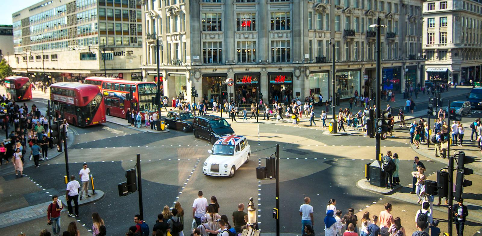 רחוב אוקספורד / צילום: Shutterstock, Willy Barton