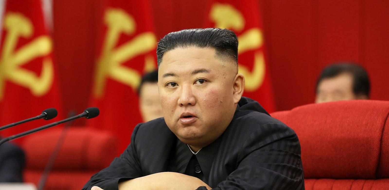 שליט  צפון קוריאה, קים ג'ונג און / צילום: Associated Press, Korean Central News Agency/Korea News Service