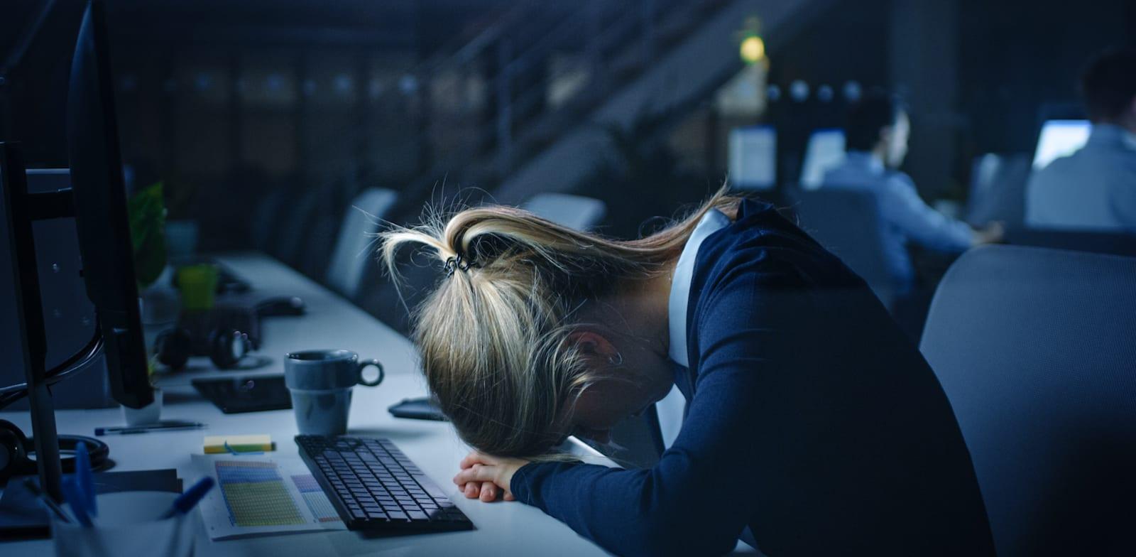 עובדת במשרד פרסום / אילוסטרציה: Shutterstock