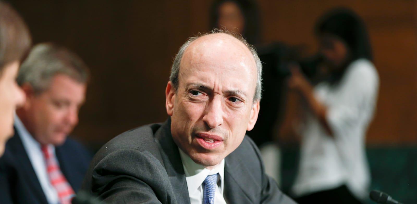"יו""ר ה־SEC, גארי גנסלר / צילום: Associated Press, J. Scott Applewhite"