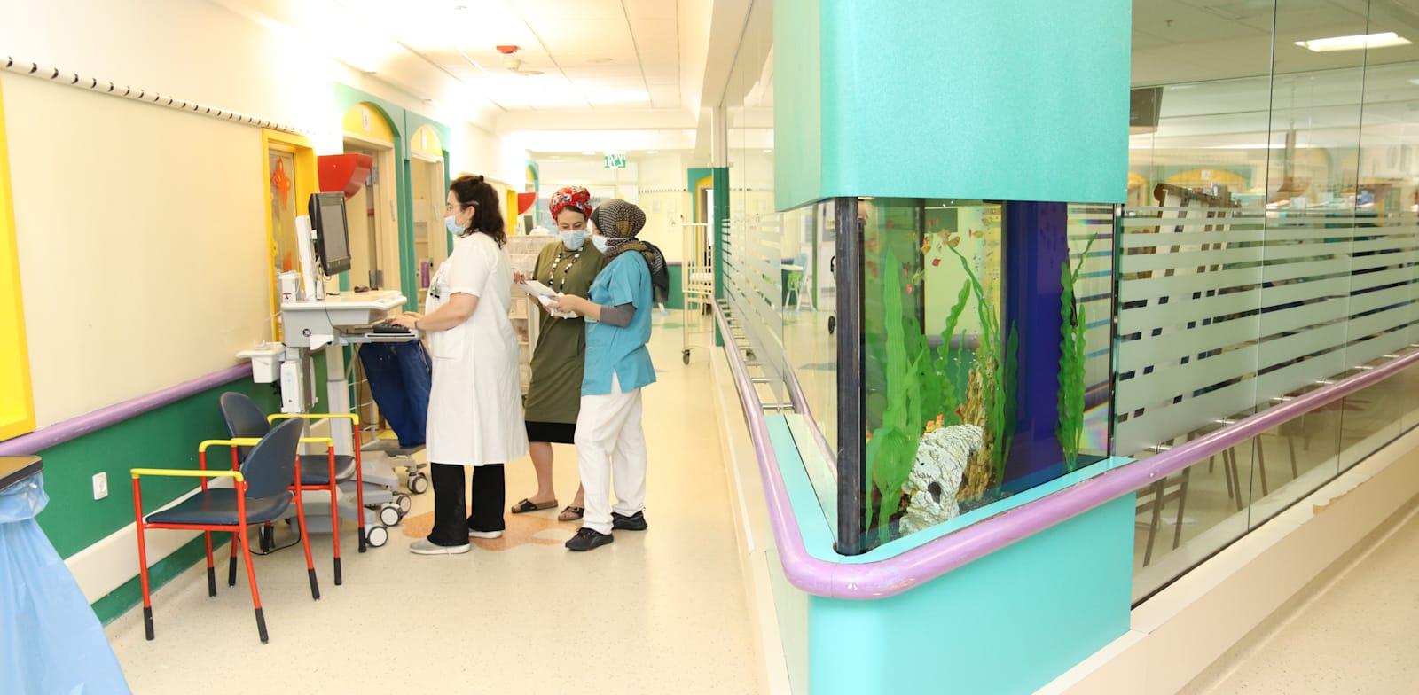 בית החולים לילדים שניידר / צילום: דוברות מרכז שניידר