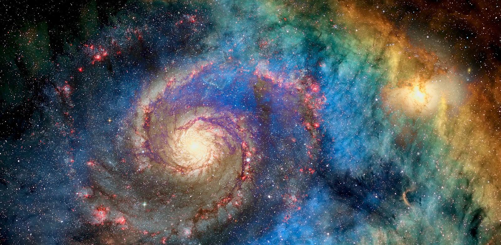 גלקסיה בצילום של נאסא / צילום: Shutterstock