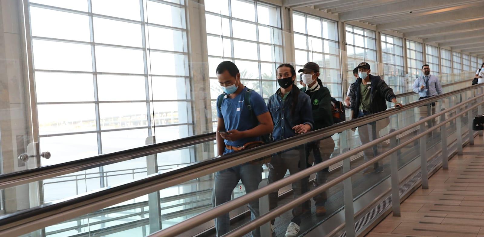 Ben Gurion Airport  credit: Yossi Zamir