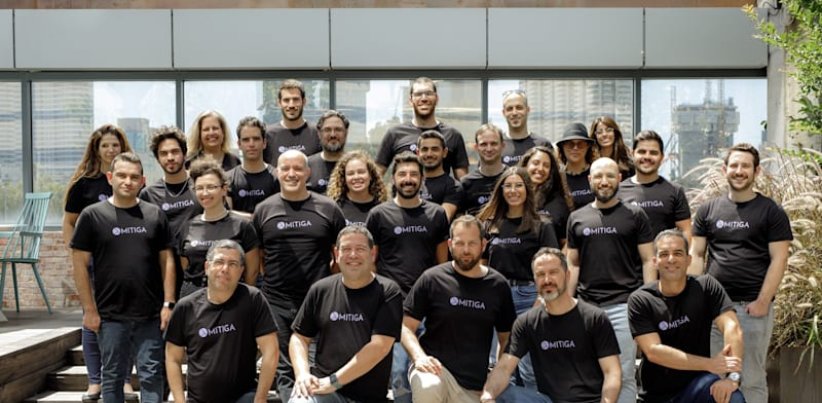 Mitiga's team Photo: Omer Hacohen