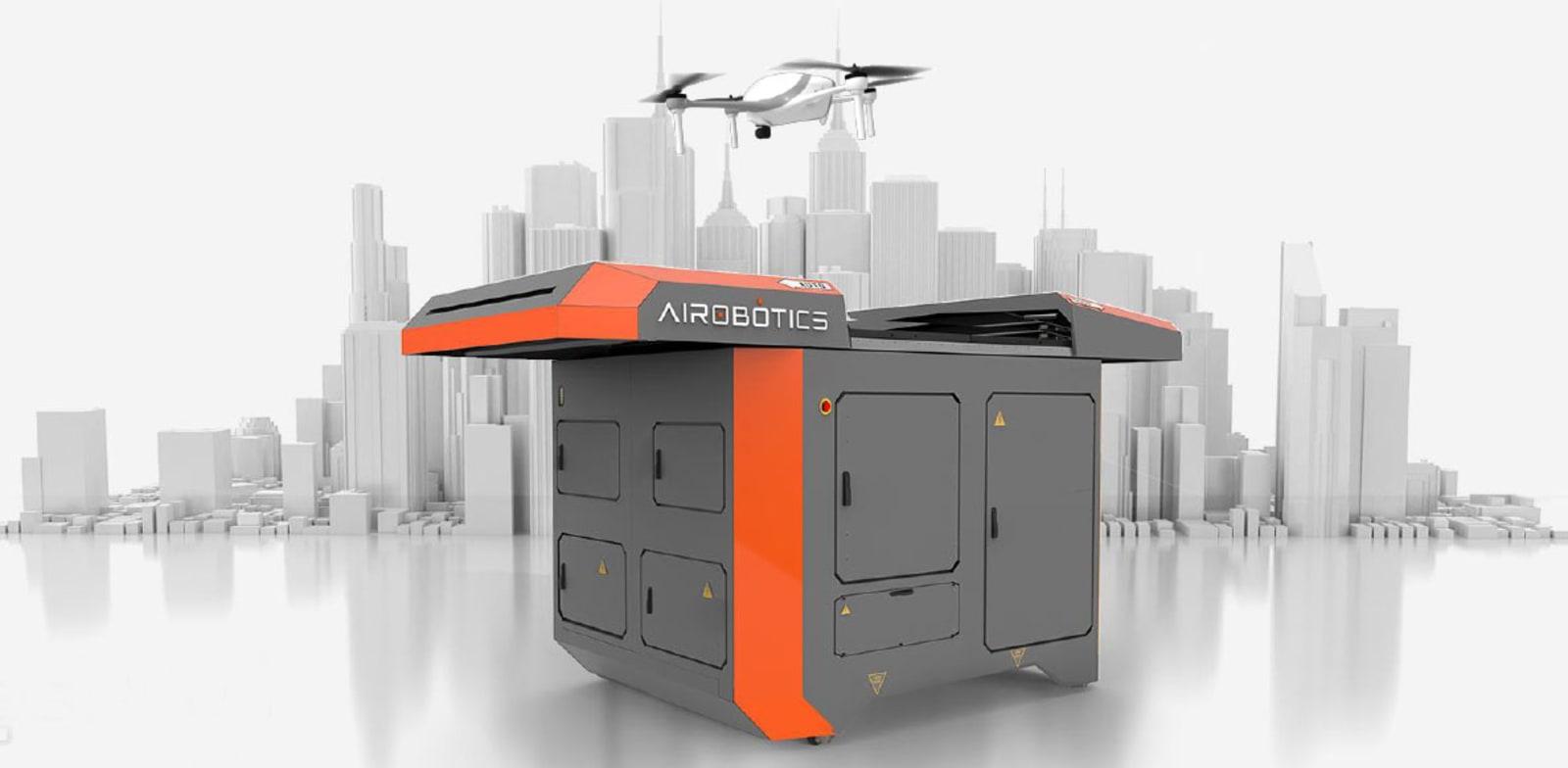 Airobotics system  credit: Company presentation