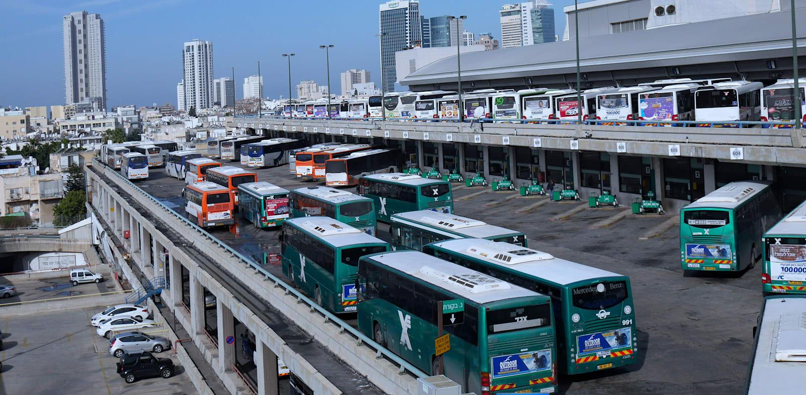 Tel Aviv Central Bus Station Photo: Shutterstock