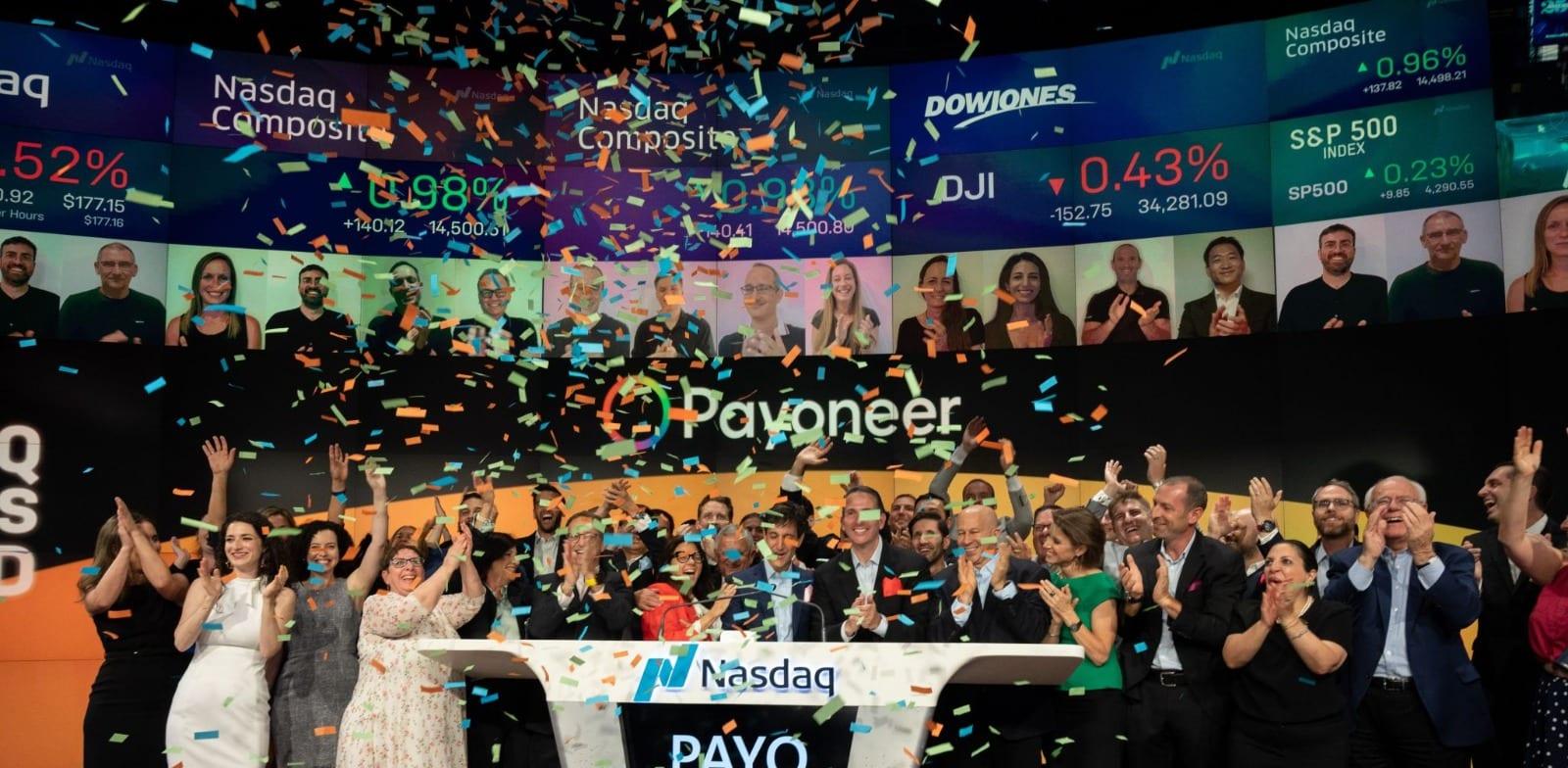 Payoneer IPO Photo: Nasdaq