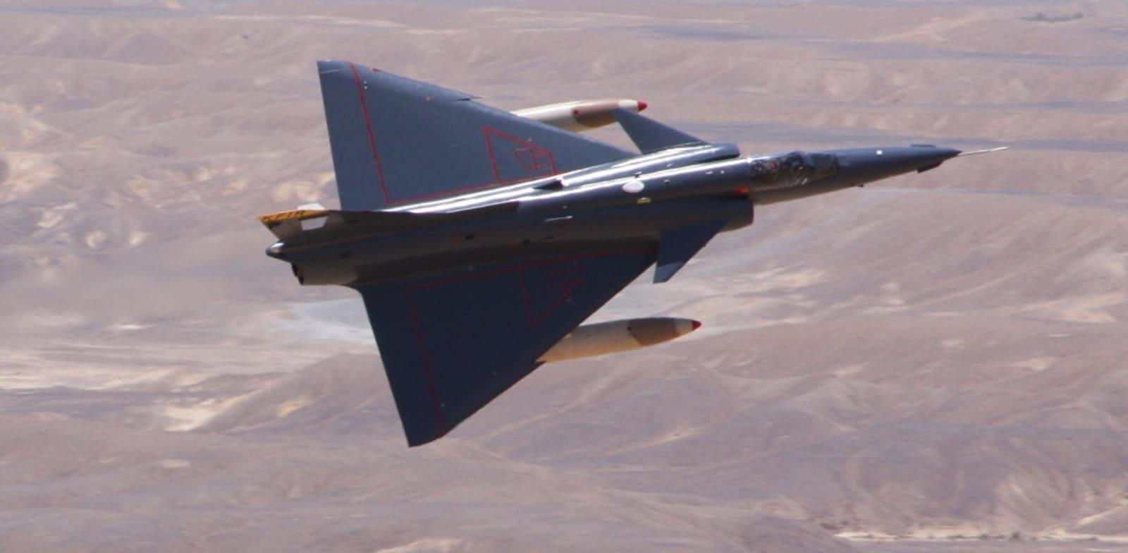 IAI Kfir fighter aircraft Photo: IAI PR