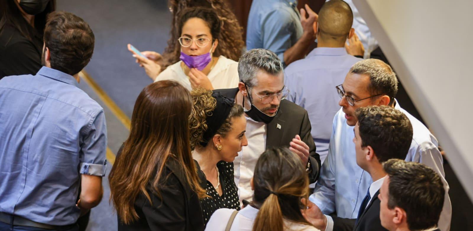 מליאת הכנסת, היום / צילום: נועם מושקוביץ, דוברות הכנסת