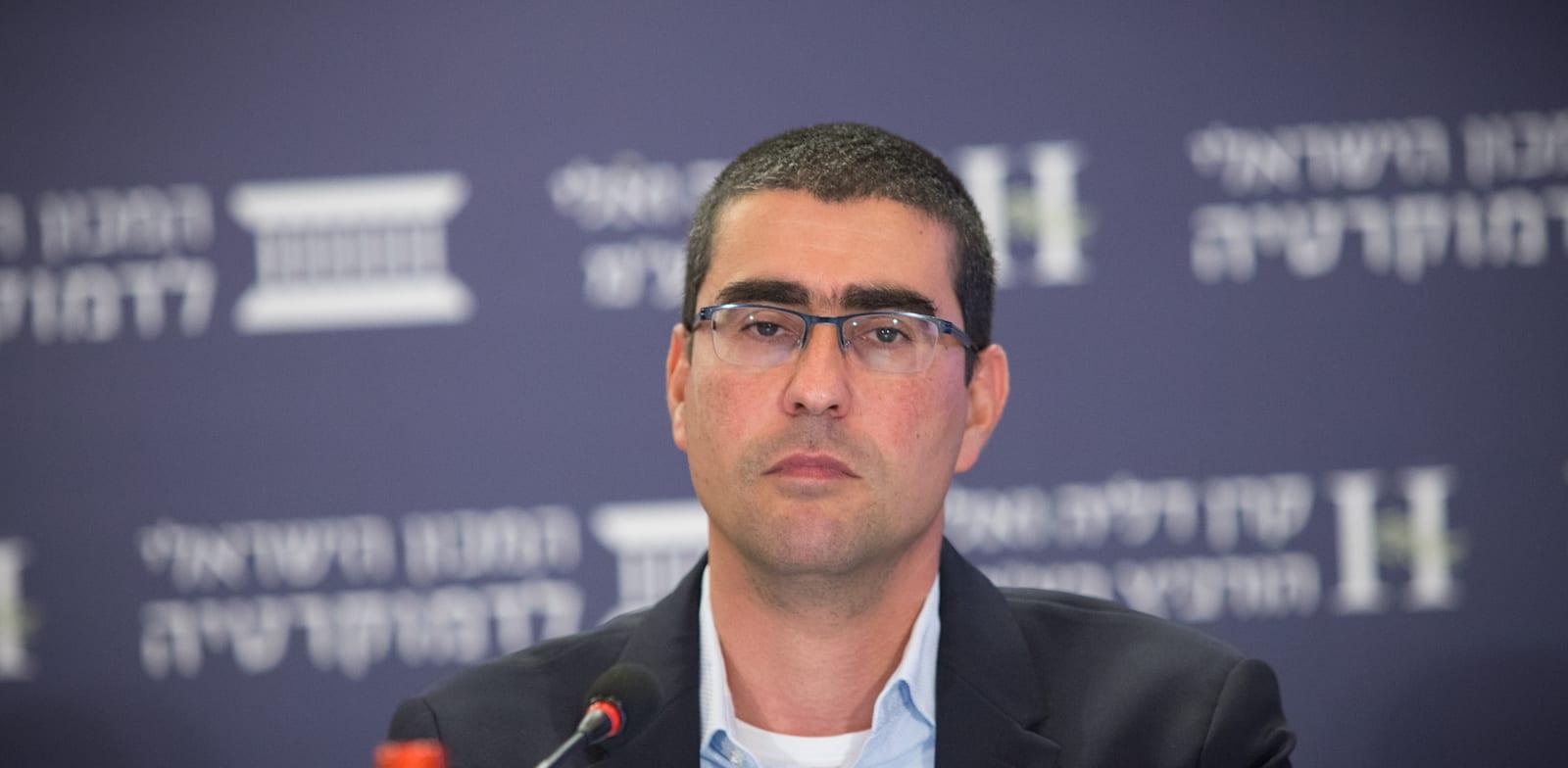הממונה על השכר באוצר, קובי בר-נתן / צילום: המכון הישראלי לדמוקרטיה