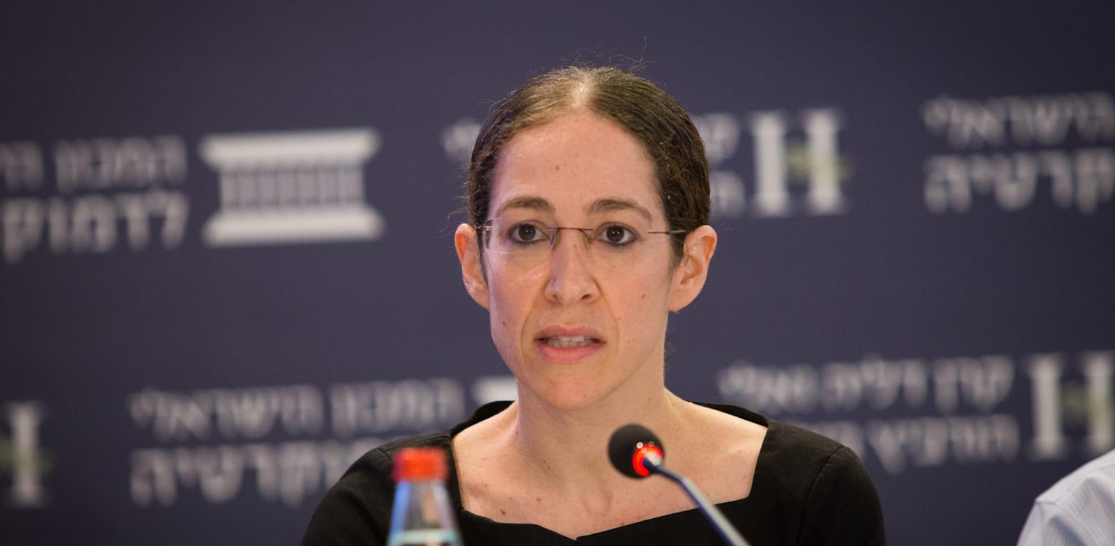 הכלכלנית הראשית במשרד האוצר שירה גרינברג / צילום: המכון הישראלי לדמוקרטיה