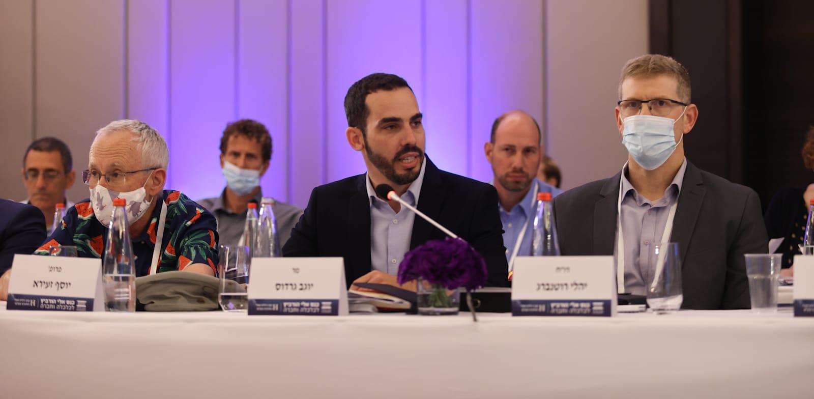 יוגב גרדוס / צילום: המכון הישראלי לדמוקרטיה
