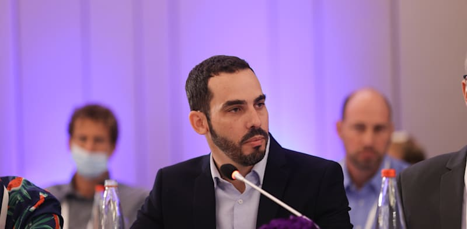 יוגב גרדוס, ממלא מקום הממונה על התקציבים במשרד האוצר / צילום: המכון הישראלי לדמוקרטיה
