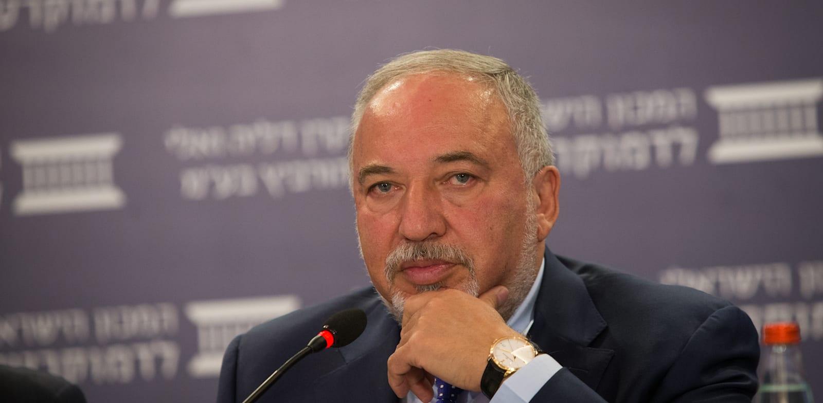 Avigdor Liberman Photo: Israel Institute of Democracy