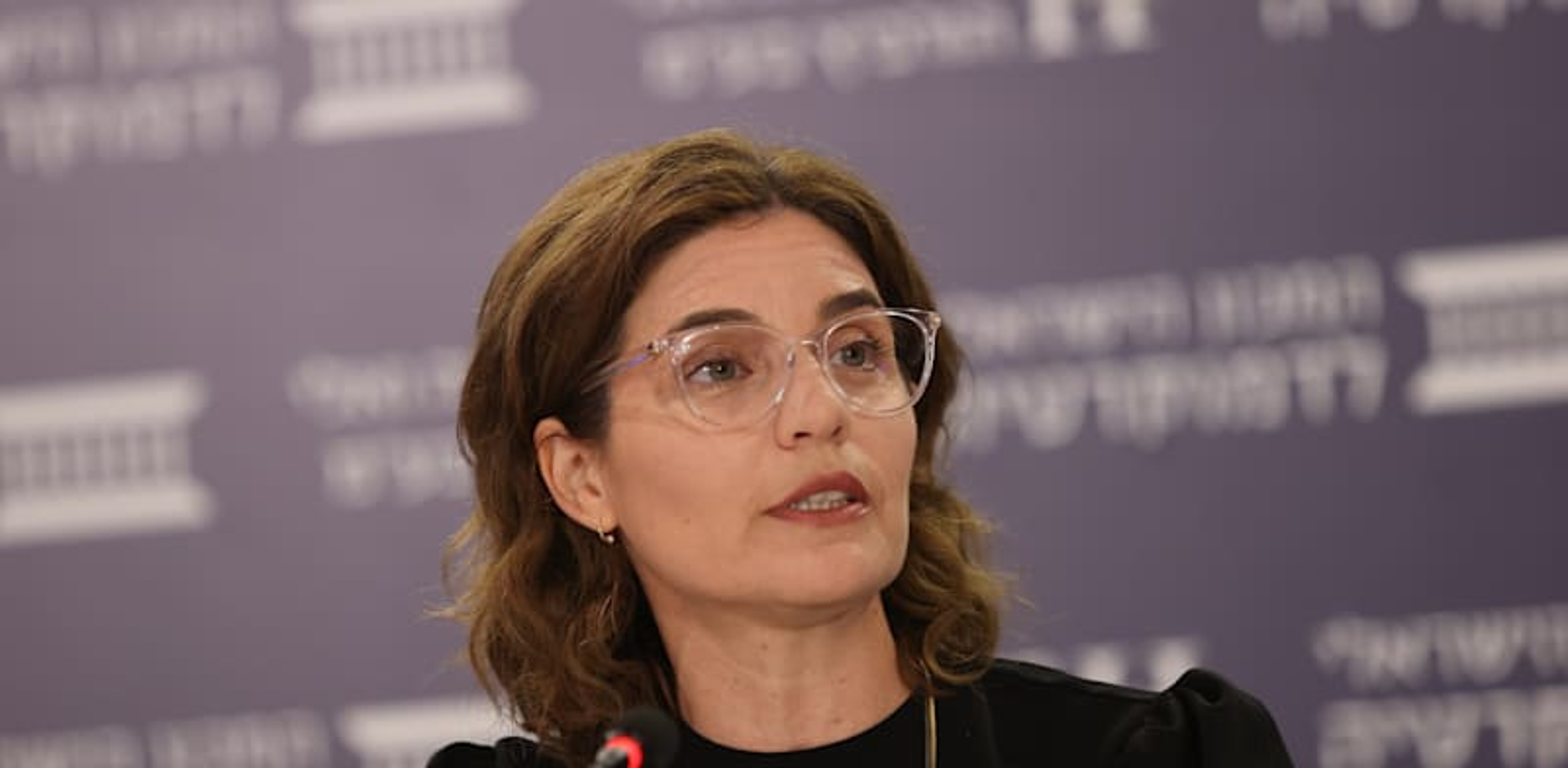 השרה להגנת הסביבה, תמר זנדברג / צילום: המכון הישראלי לדמוקרטיה