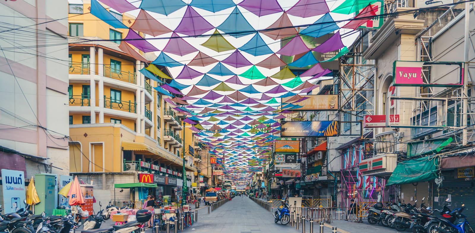 בנגקוק, השבוע. תאילנד משוועת לתיירים / צילום: Shutterstock, AfriramPOE