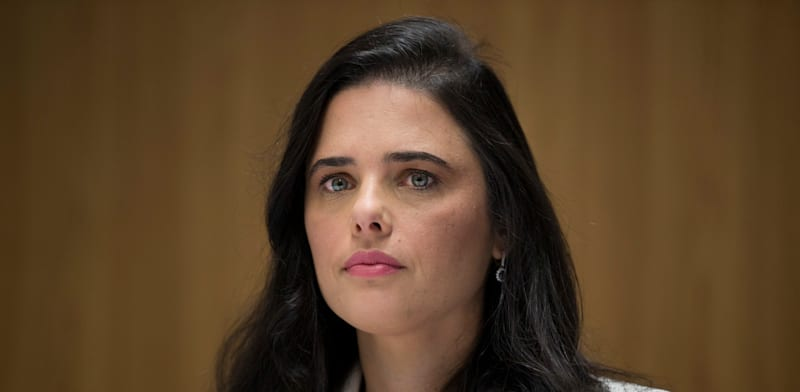 שרת הפנים איילת שקד / צילום: Associated Press, Oded Balilty