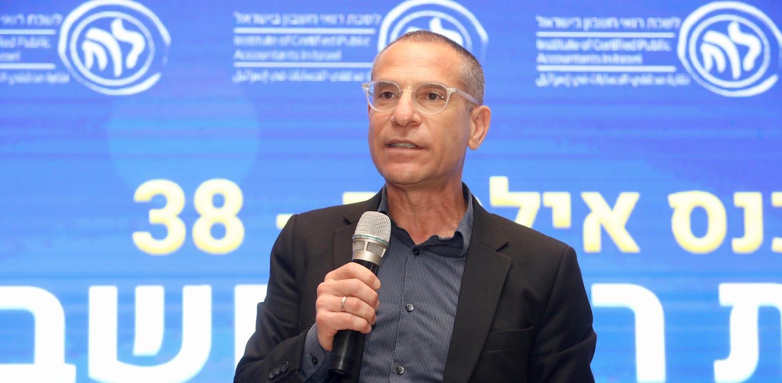 ערן יעקב מנהל רשות המיסים בכנס הכלכלי של לשכת רואי חשבון באילת / צילום: ניב קנטור