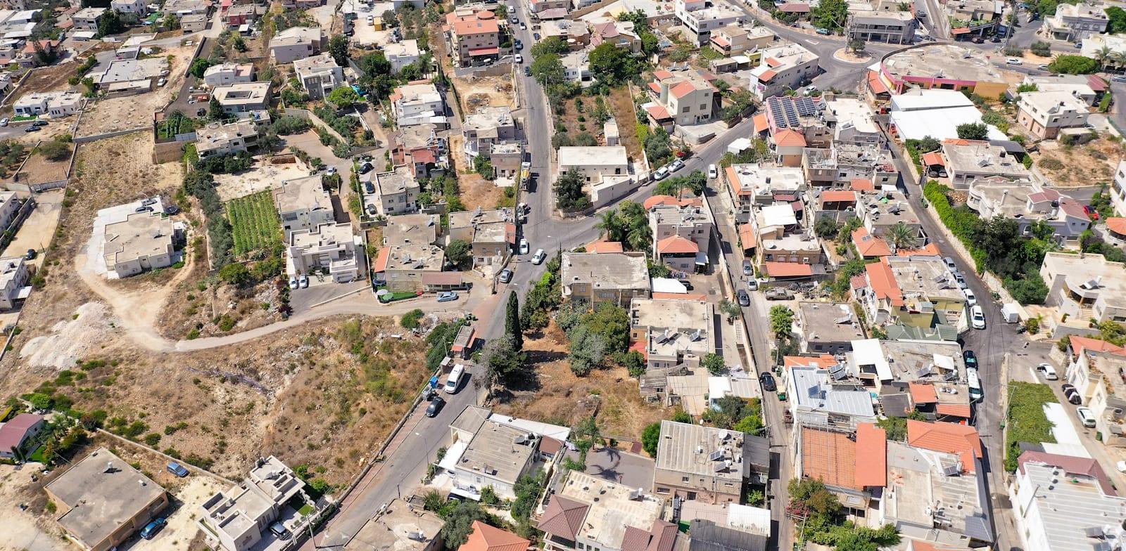 הכפר הדרוזי עספיא / צילום: Shutterstock, StockStudio Aerials