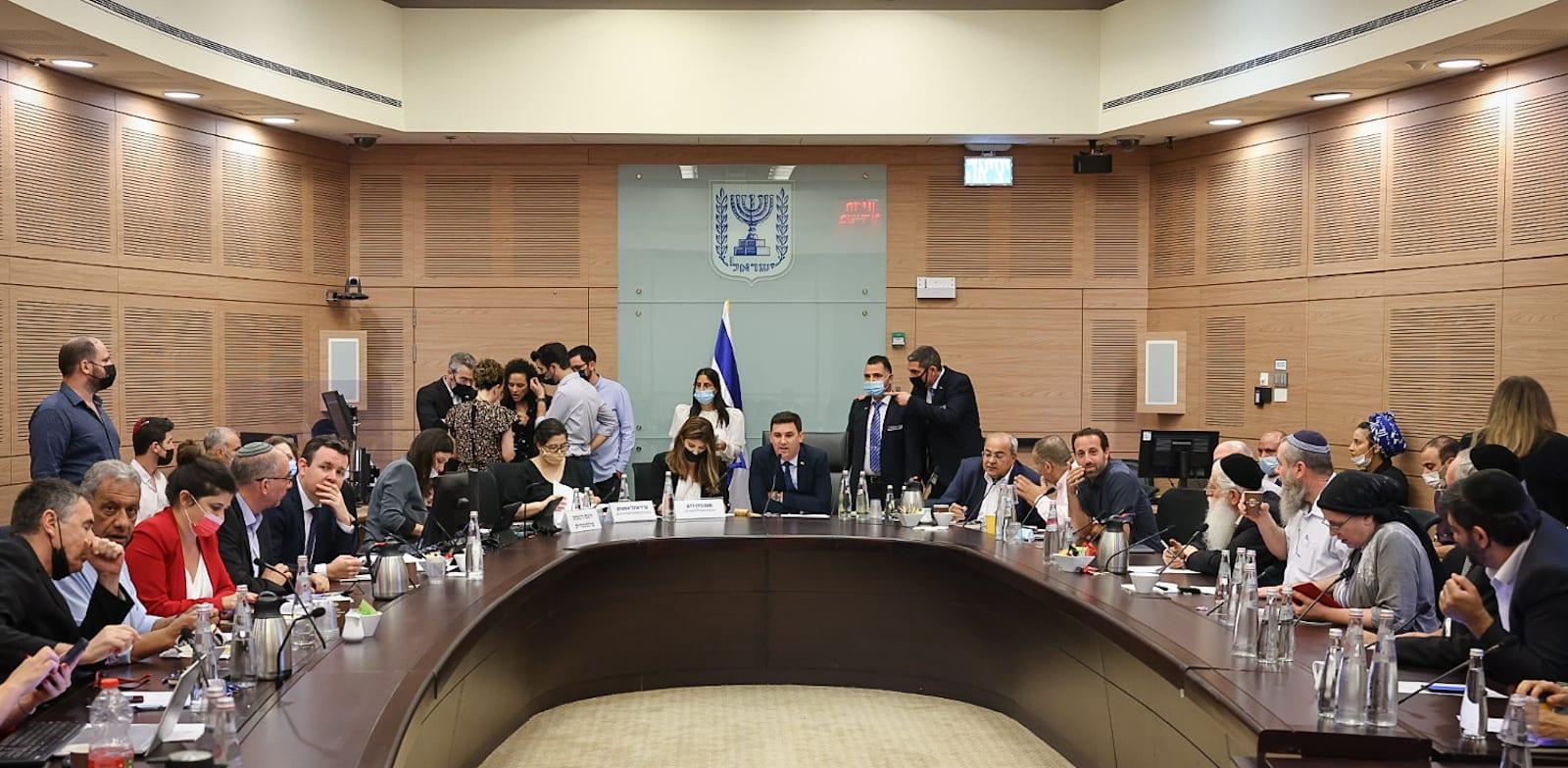 הוועדה המסדרת, היום / צילום: נועם מושקוביץ, דוברות הכנסת