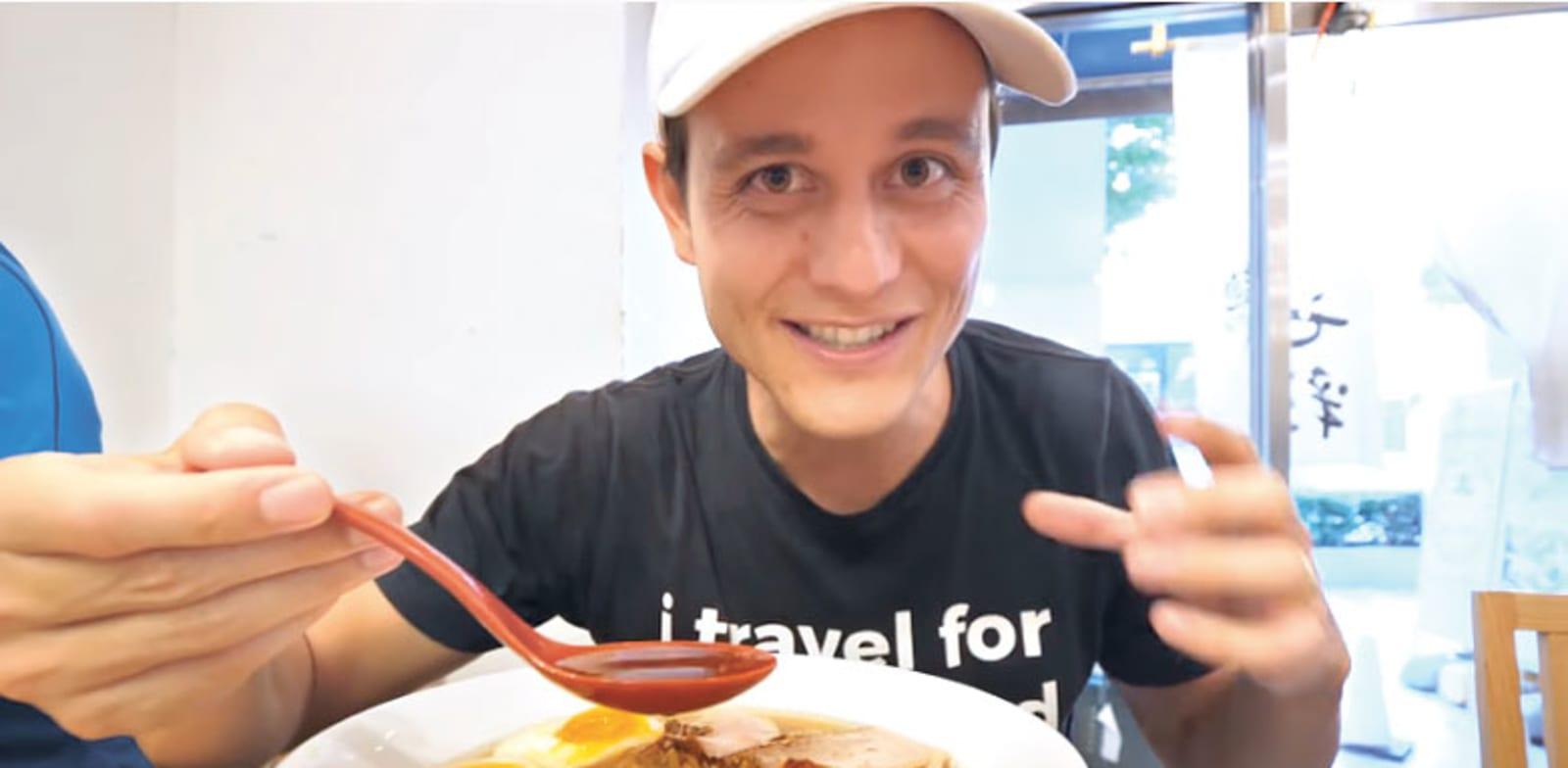 הווידאו בלוגר מרק ווינס. 8 מיליון עוקבים והתמחות בטיולים ואוכל / צילום: צילום מסך מהיוטיוב של Mark Wiens