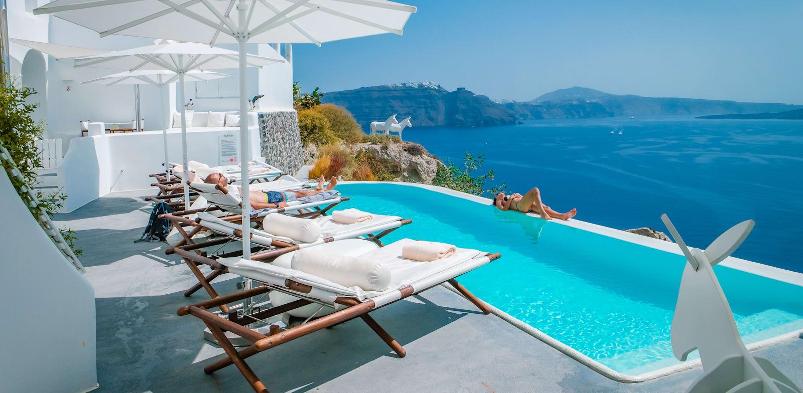 """מלון ביוון. """"מאמינים בחוויית לקוח במלונות העצמאיים"""" / צילום: Shutterstock"""