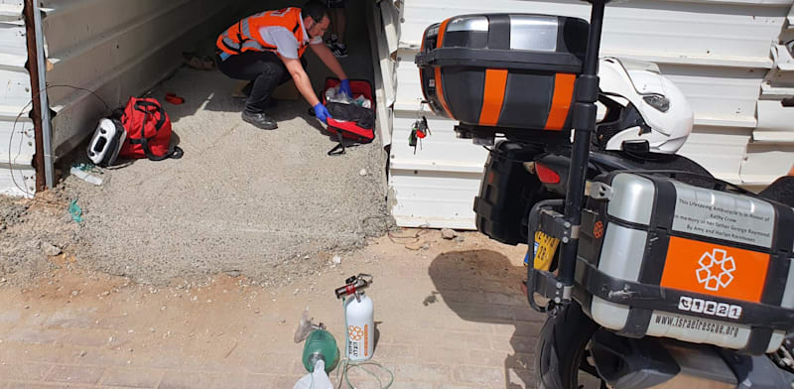 התאונה באשדוד / צילום: איחוד הצלה