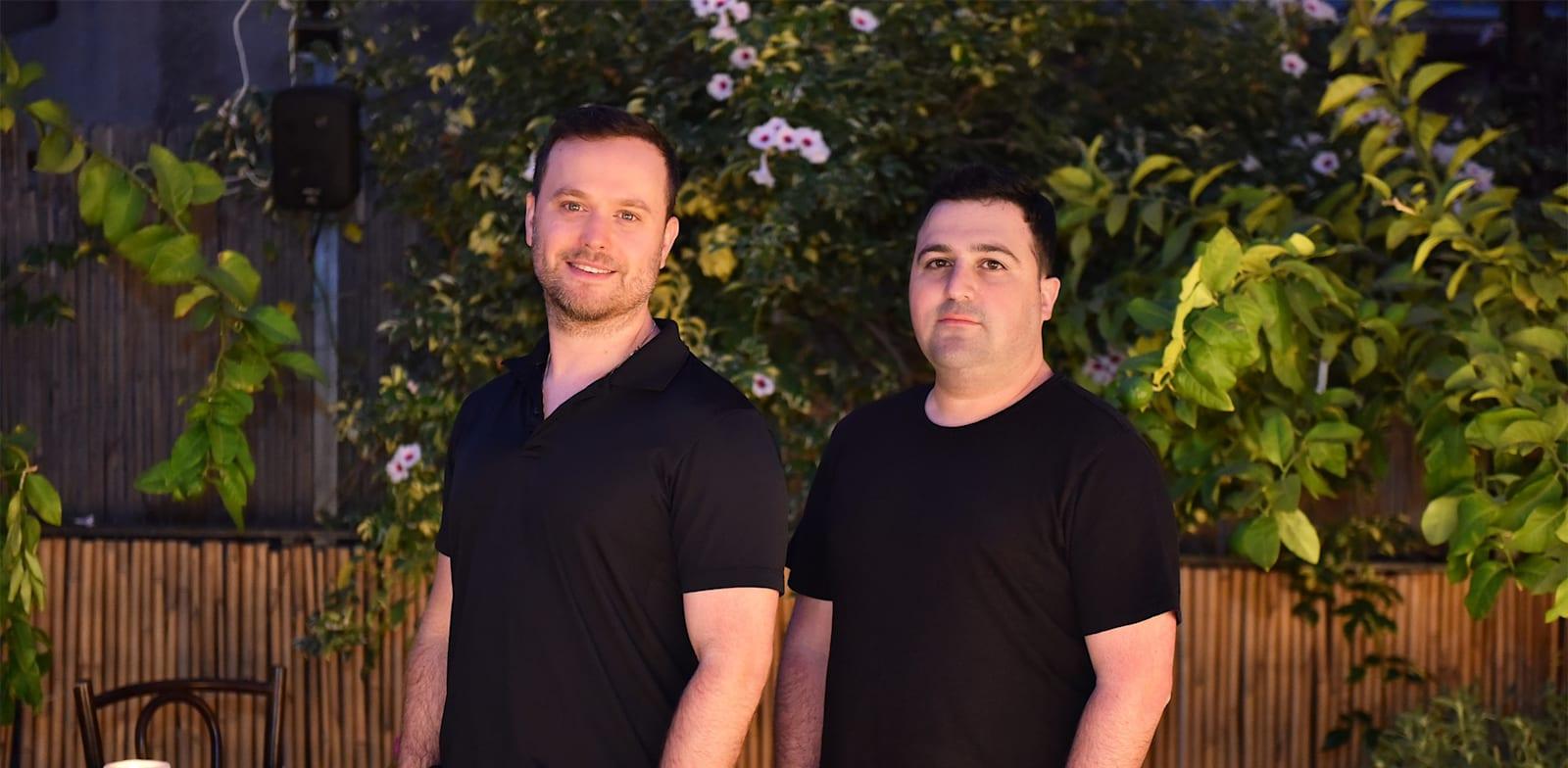מייסדי חברת קיסטרה. מימין לשמאל: שגב שילטון, יפתח (יפתי) קרזנר / צילום: באדיבות Kissterra