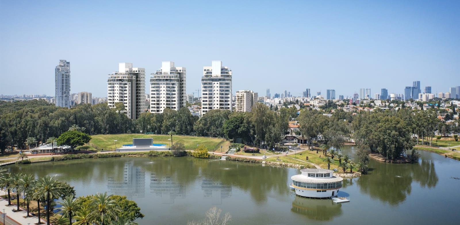 התחדשות עירונית אחד העם 50־62 רמת גן / הדמיה: 3division