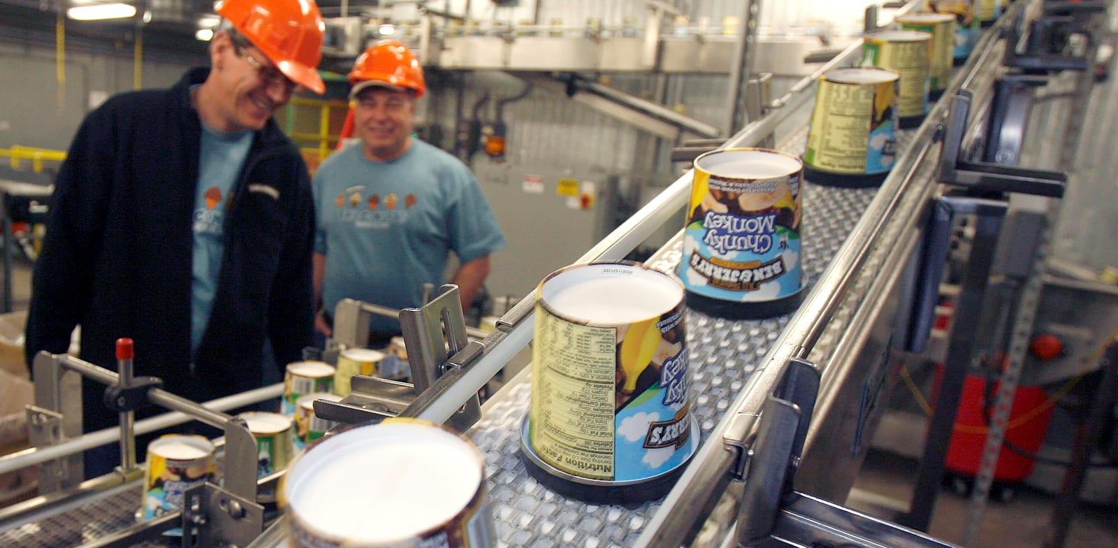 מפעל של בן אנד ג'ריס / צילום: Associated Press, Toby Talbot
