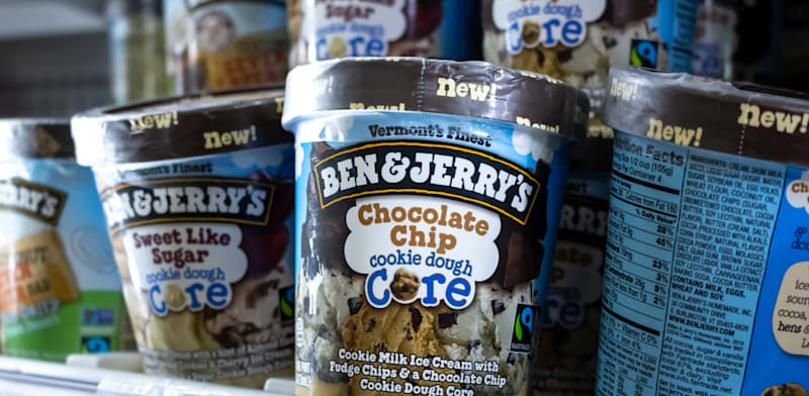 גלידות של בן אנד ג'ריס / צילום: Shutterstock, TonelsonProductions