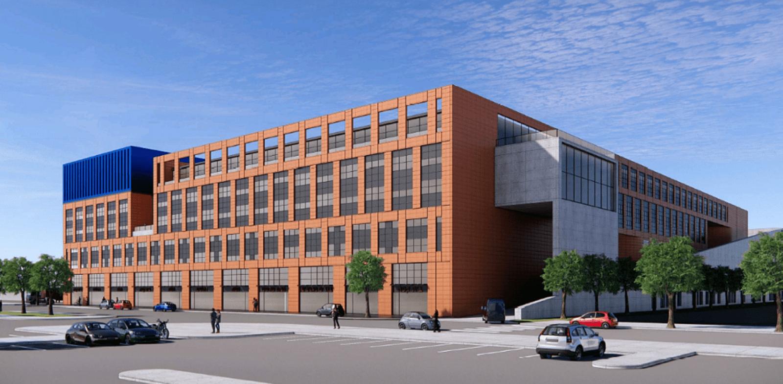 הפרויקט באזור התעשייה שוהם / הדמיה: אורבך הלוי אדריכלים