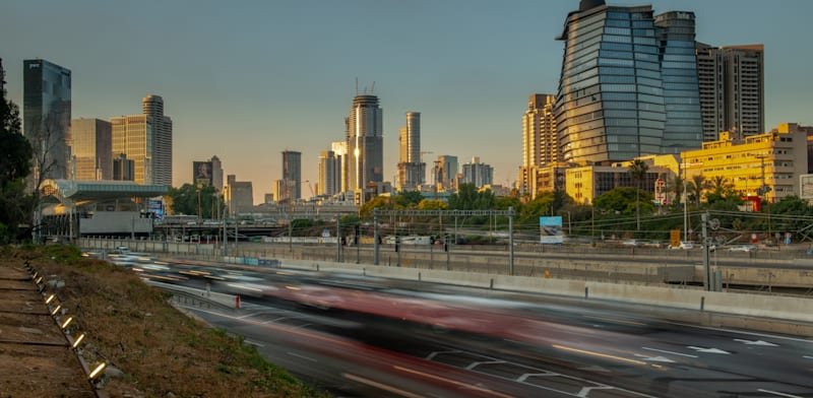 Tel Aviv offices  credit: Shutterstock