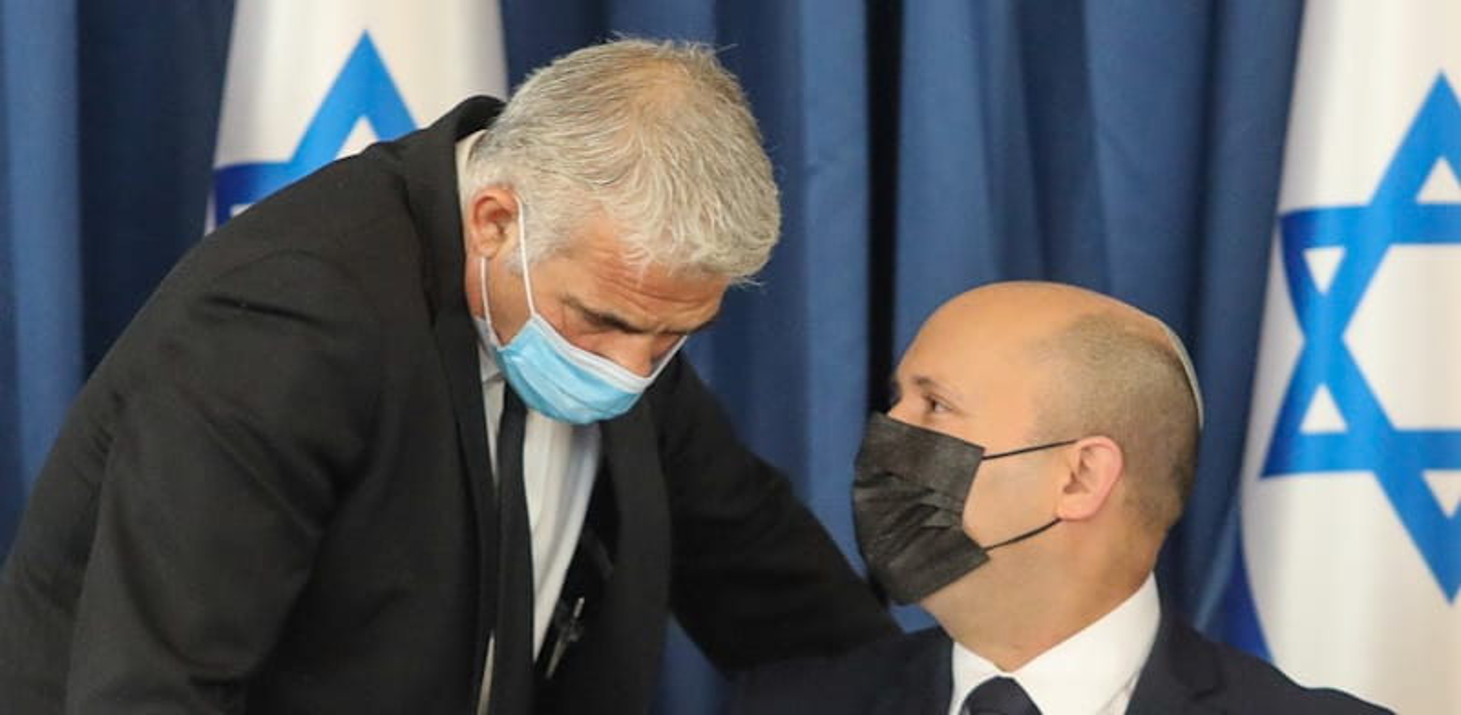 ראש הממשלה נפתלי בנט ושר החוץ יאיר לפיד / צילום: מארק ישראל סלם - הג'רוזלם פוסט