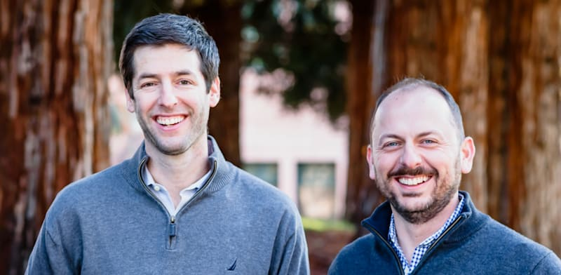 At-Bay founders Rotem Iram and Roman Itskovich  credit: At-Bay